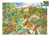 Observation Puzzle Dinosaurs 100pc