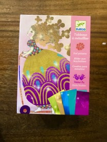 Djeco Metalic foil craft