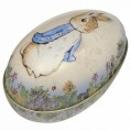Peter Rabbit Tin Egg