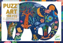 Art Puzzle - Elephant 150pc