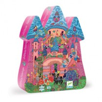 Silhouette Puzzle Fairy Castle 54pc