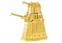 Metal Earth Dr Who Gold Dalek