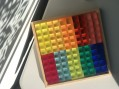 Bauspiel Colourful Lucite 100 cube set