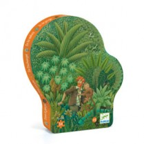 Silhouette Puzzle Jungle 54pc