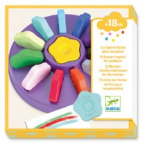Flower Crayons for Toddlers