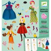 Fashion Stickers & Paper Dolls Kit