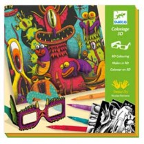 3D Colouring Funny Freaks