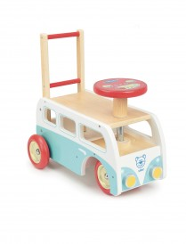 Retro Wooden Toy Combi pusher and Ride On