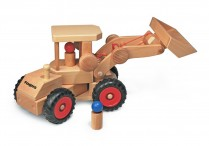 Wooden Wheel Loader