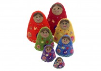 Babushka  felt Doll set