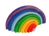 Bauspiel large 50cm rainbow