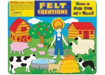 Felt Creations - Barn