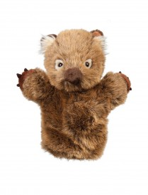 Wolly Wombat Hand Puppet 25cm