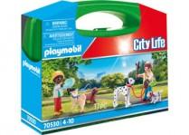 Playmobil Dog Walking carry case