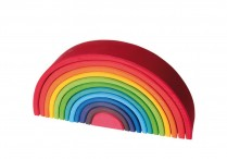 GRIMMS 12 piece Wooden Rainbow Large