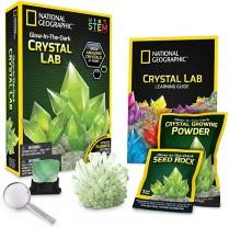 Nat-Geo Glow-In-the-Dark Crystal Growing Lab Kit