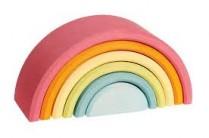Grimms Wooden Pastel Rainbow