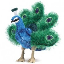 Peacock Puppet