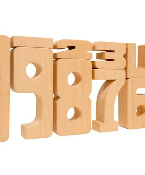Sumblox Wooden Number Blocks
