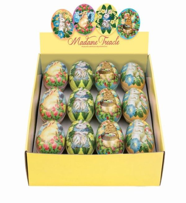 Tin Easter Eggs