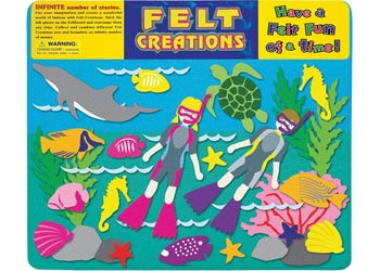 Felt Creations - Aquatic diving