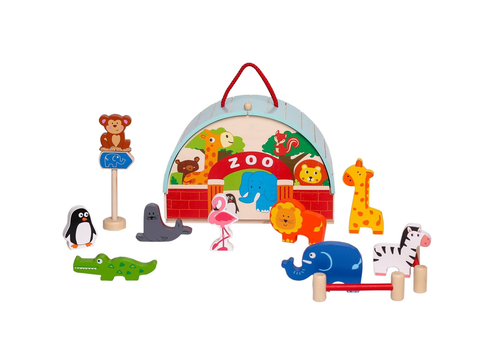 Zoo Playset - carry case