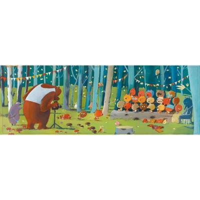 Djeco - Forest friends 100pc Gallery Puzzle