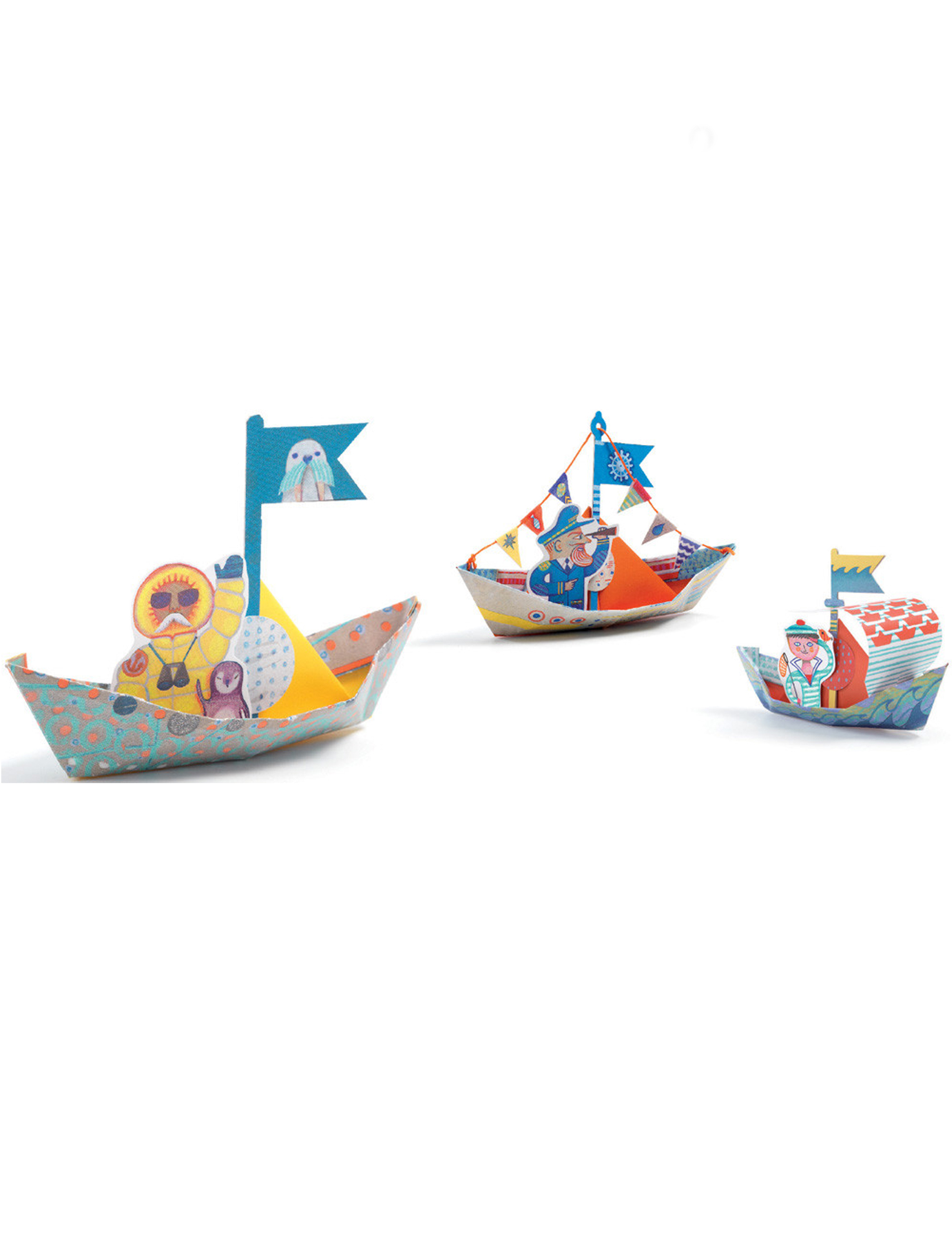 Djeco Origami Boats on the Water