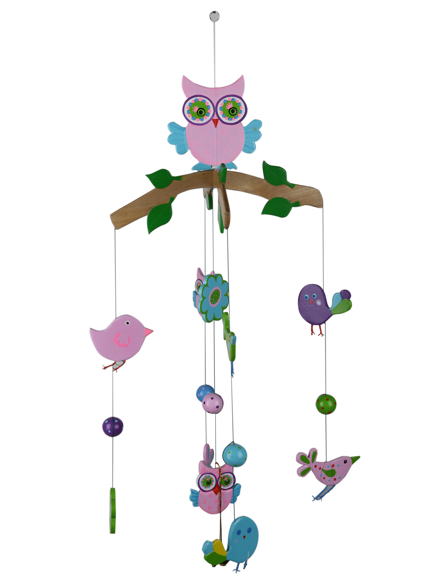 Mobile Pink Owl