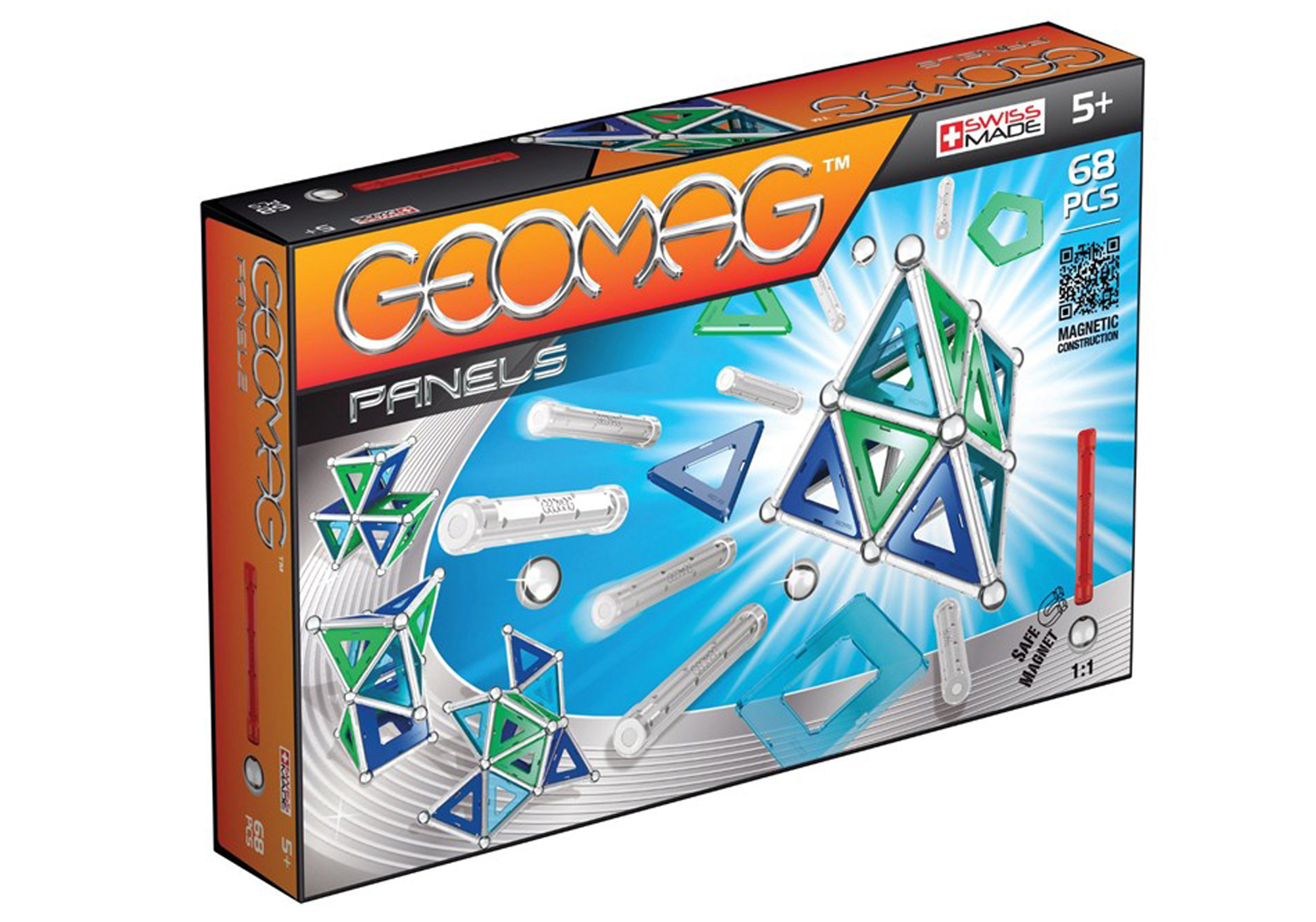 Geomag Magnetic Panels 68pcs