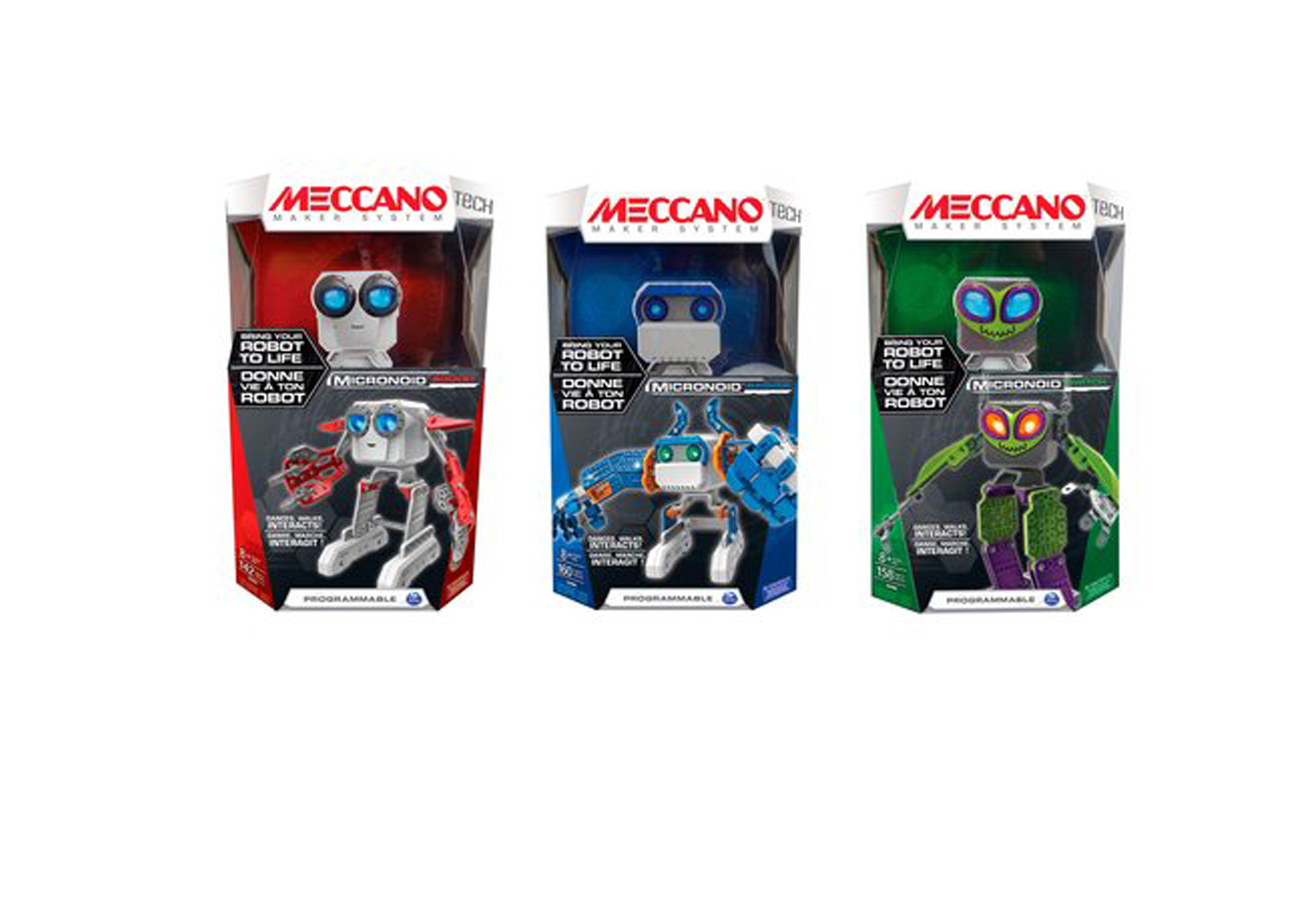 Meccano Micronoid Assorted