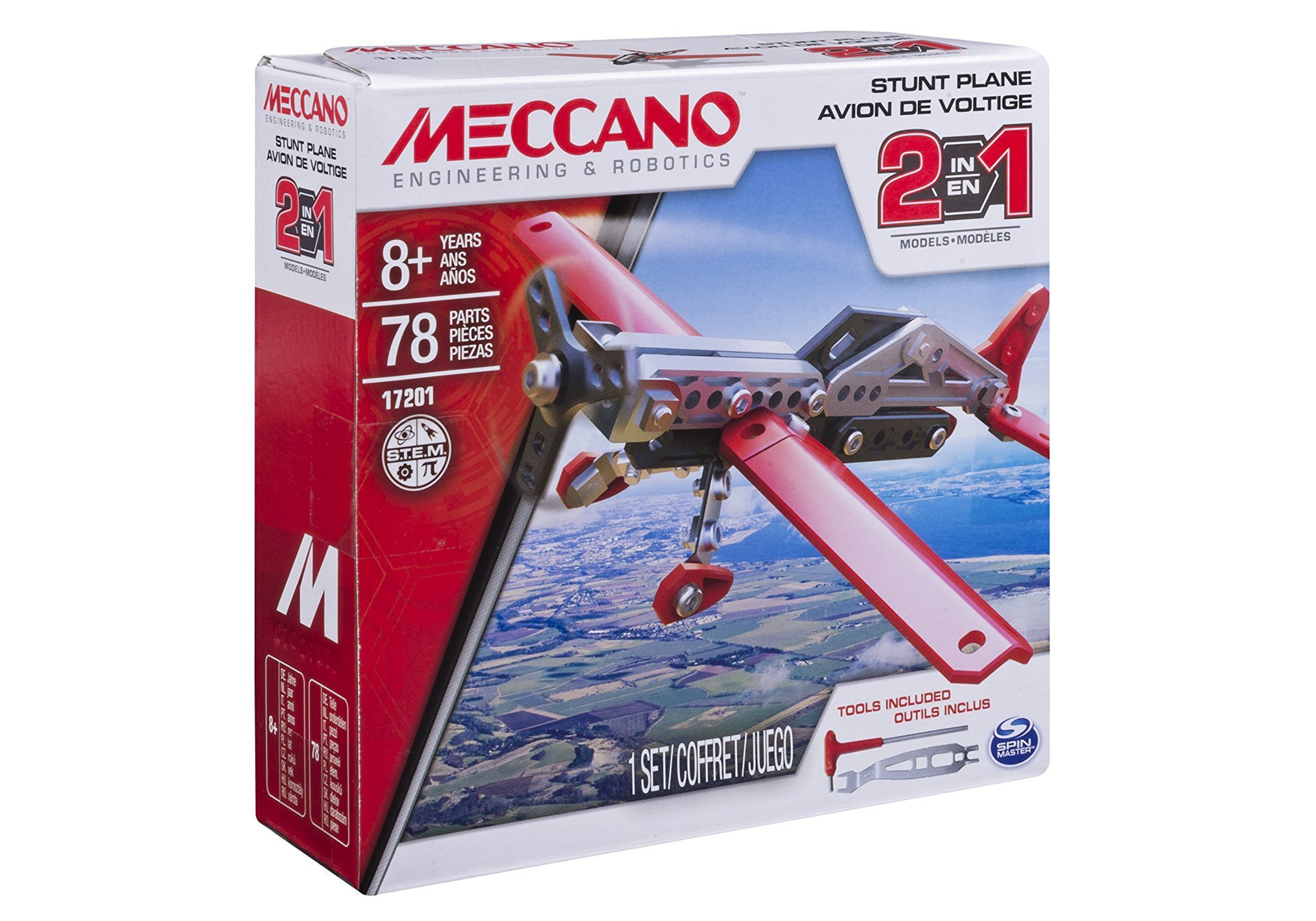 Meccanno Engineering 2in1 Plane