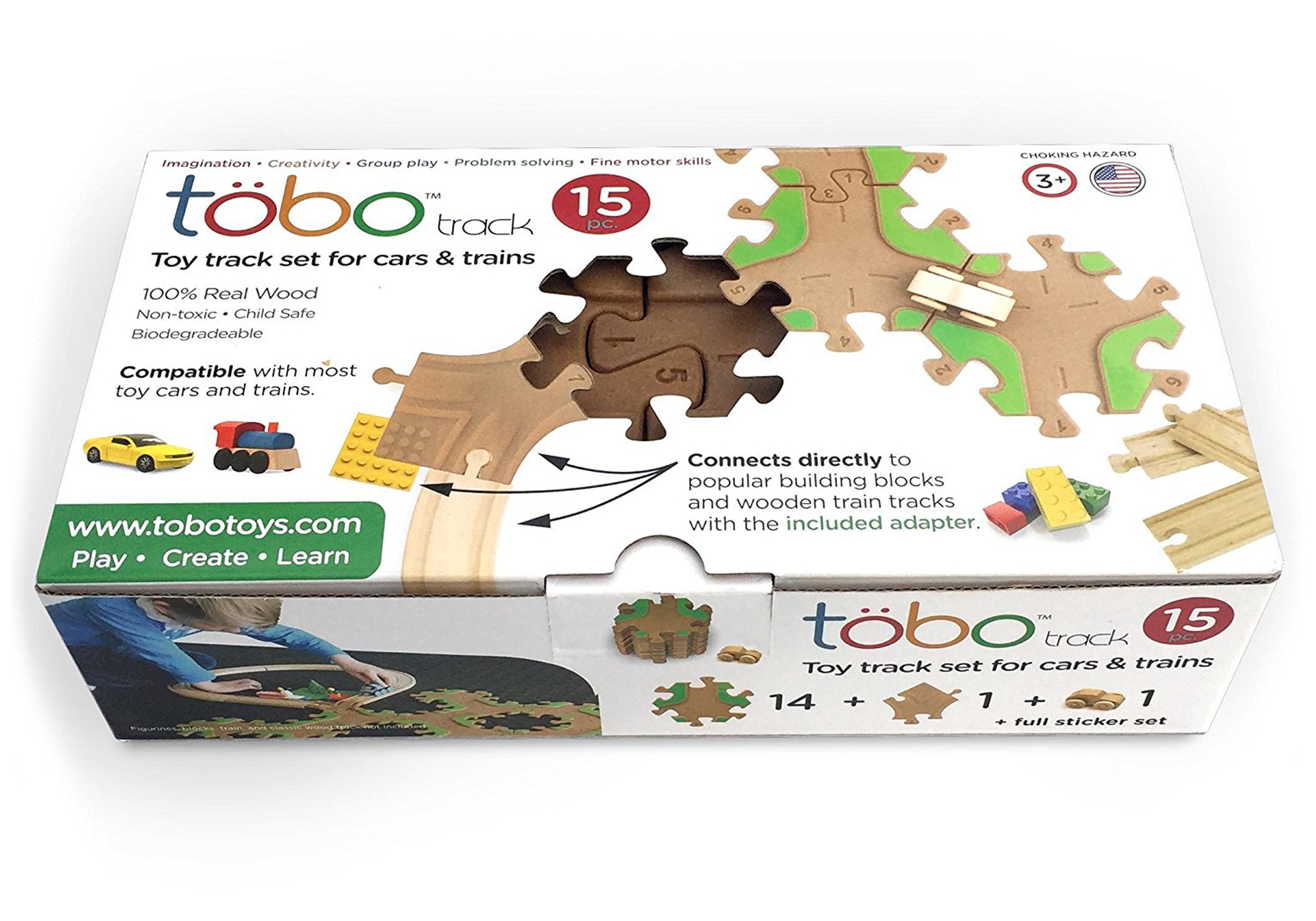 Tobo Wooden Track Set