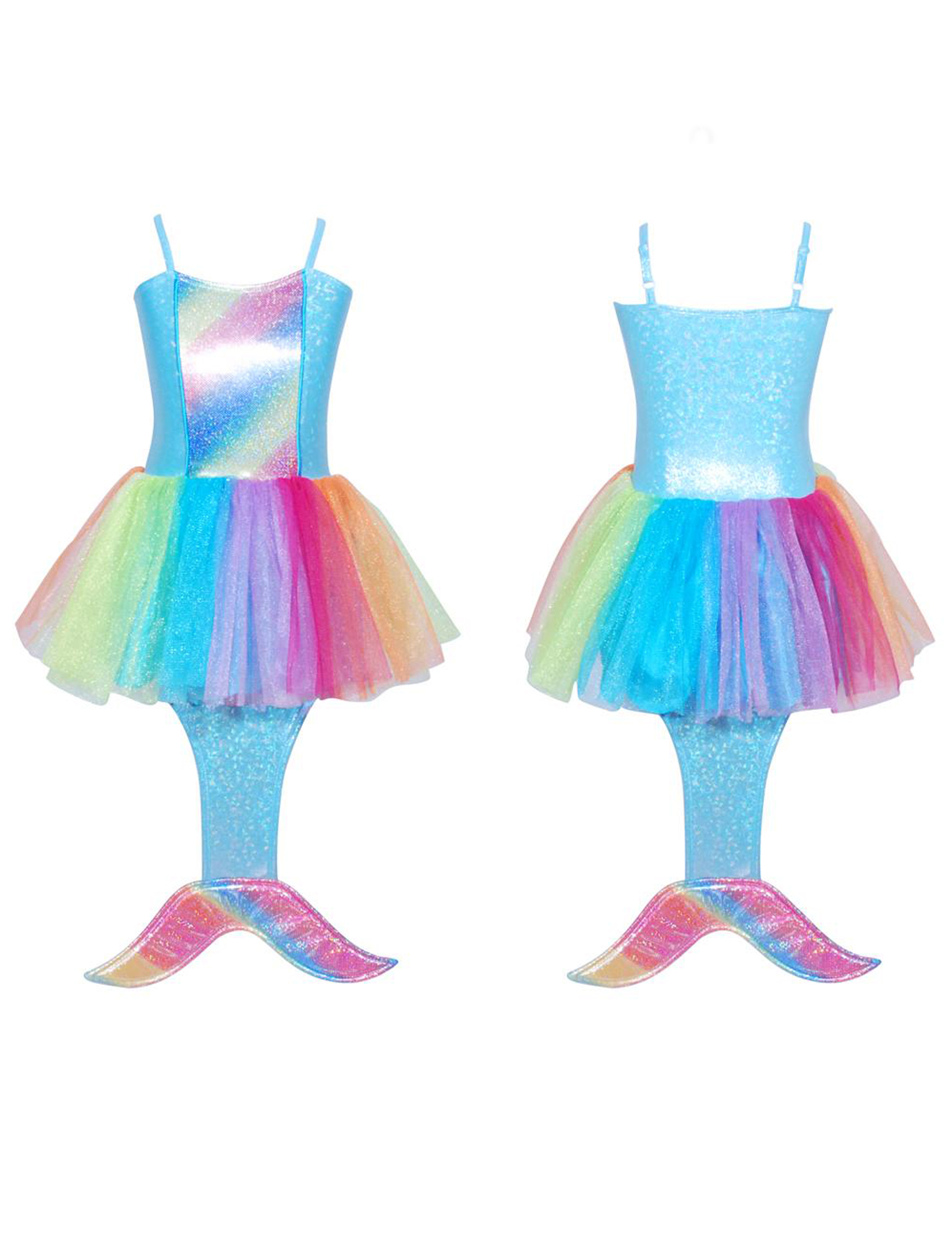 Rainbow Mermaid Dressup