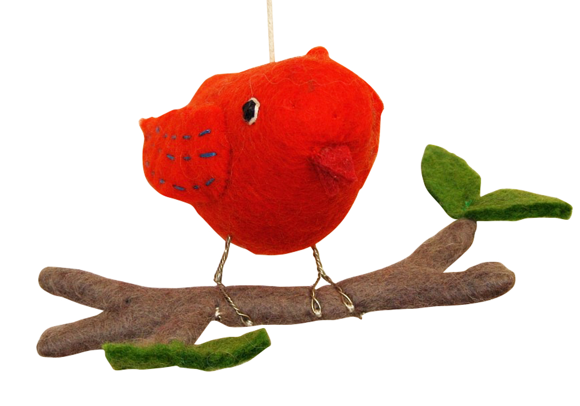 Big Boy Orange on a Branch