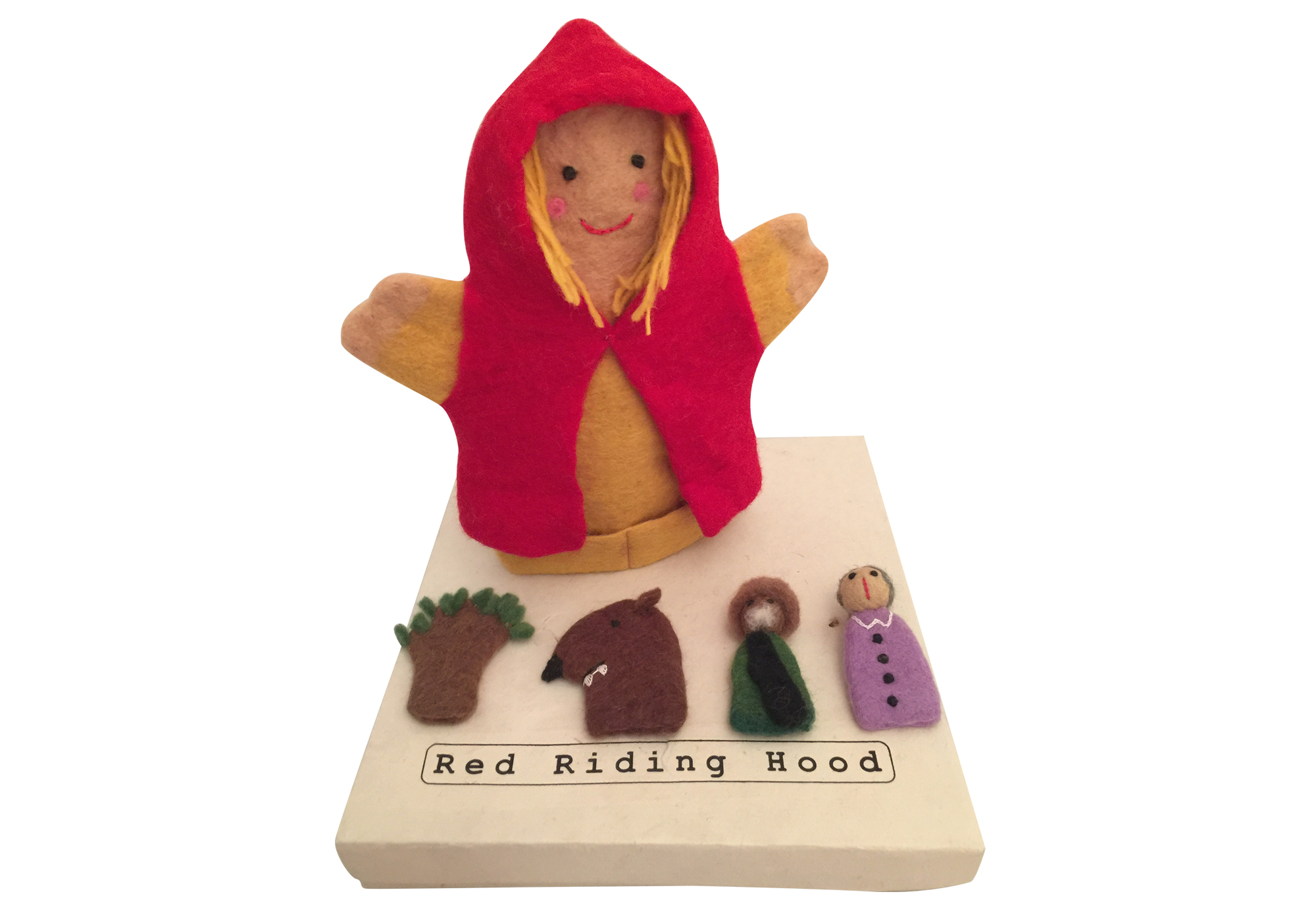 Red Riding Hood Story time Puppet