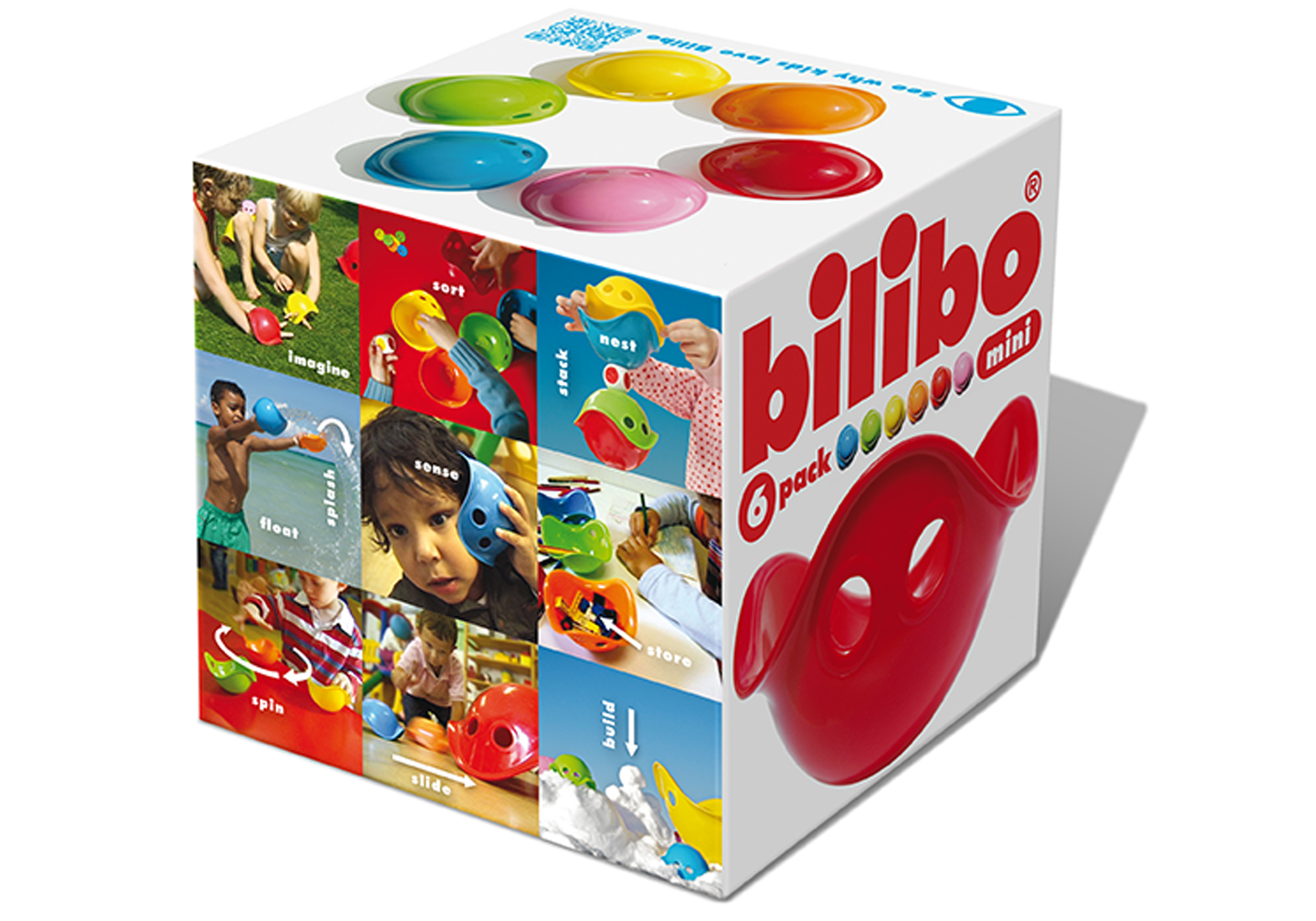 Mini Bilibo 6 Pack