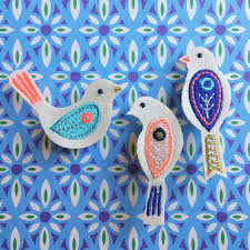 Meri Meri Bird Brooches