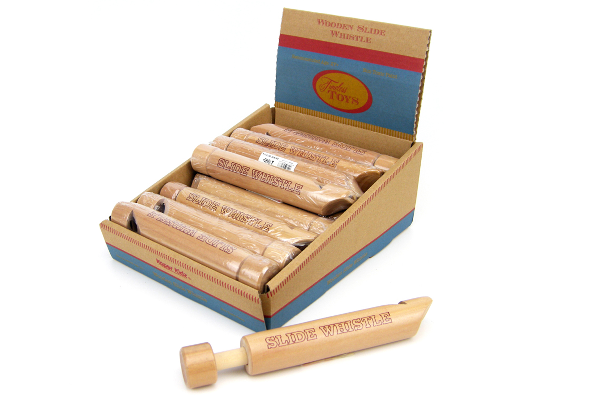 Wooden Slide whistle