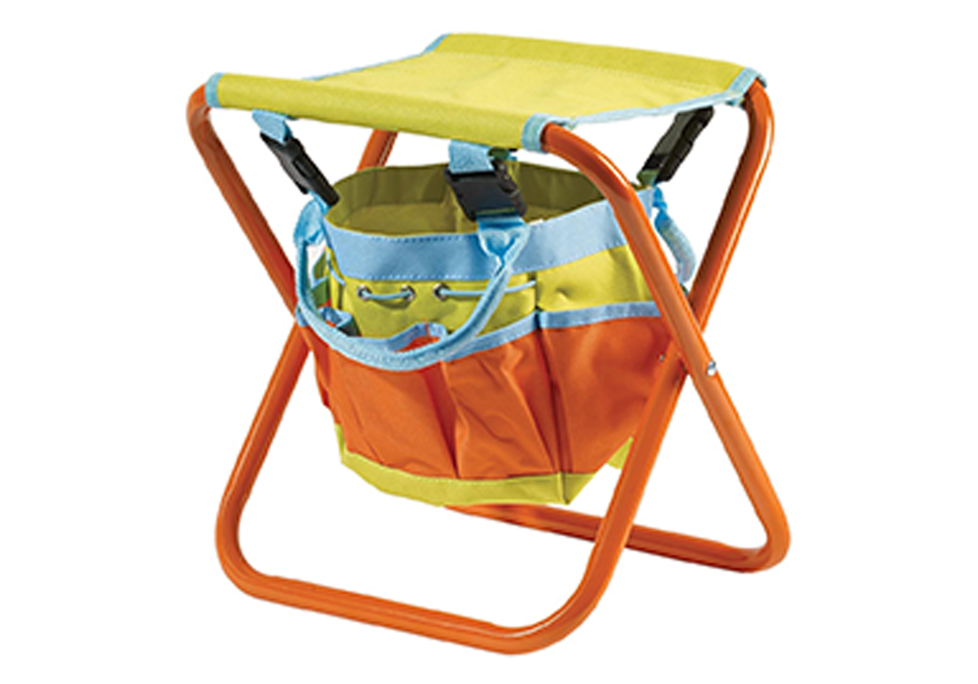Kids Folding Stool w/ Storage