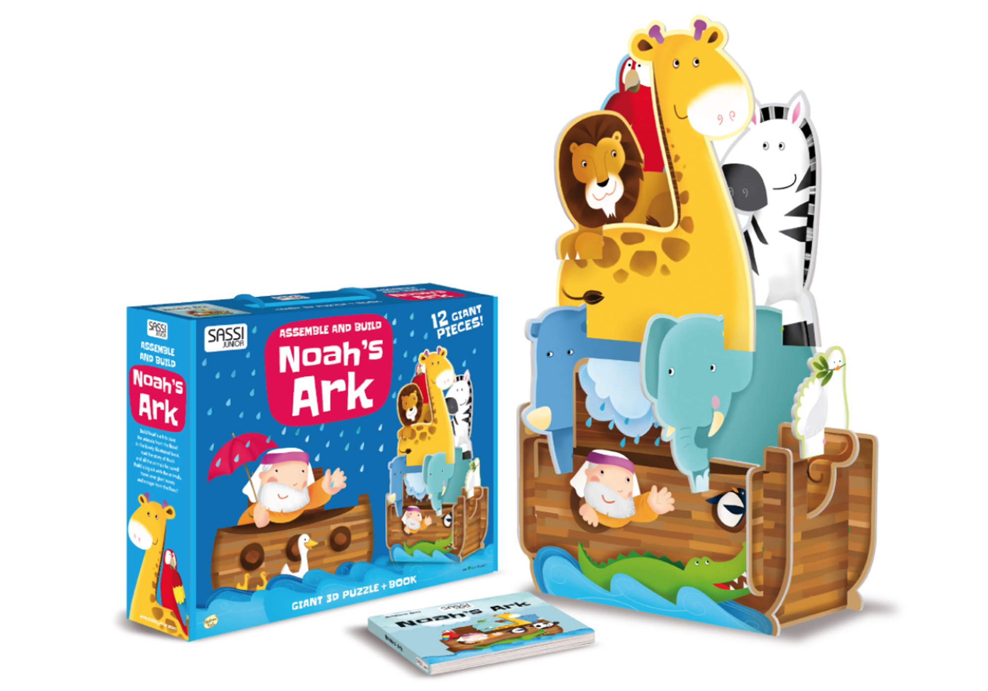 Noah's Ark 3D Puzzle and Book