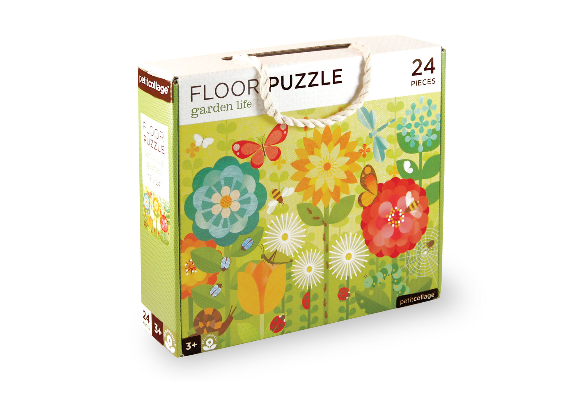 Floor Puzzle Growing Garden