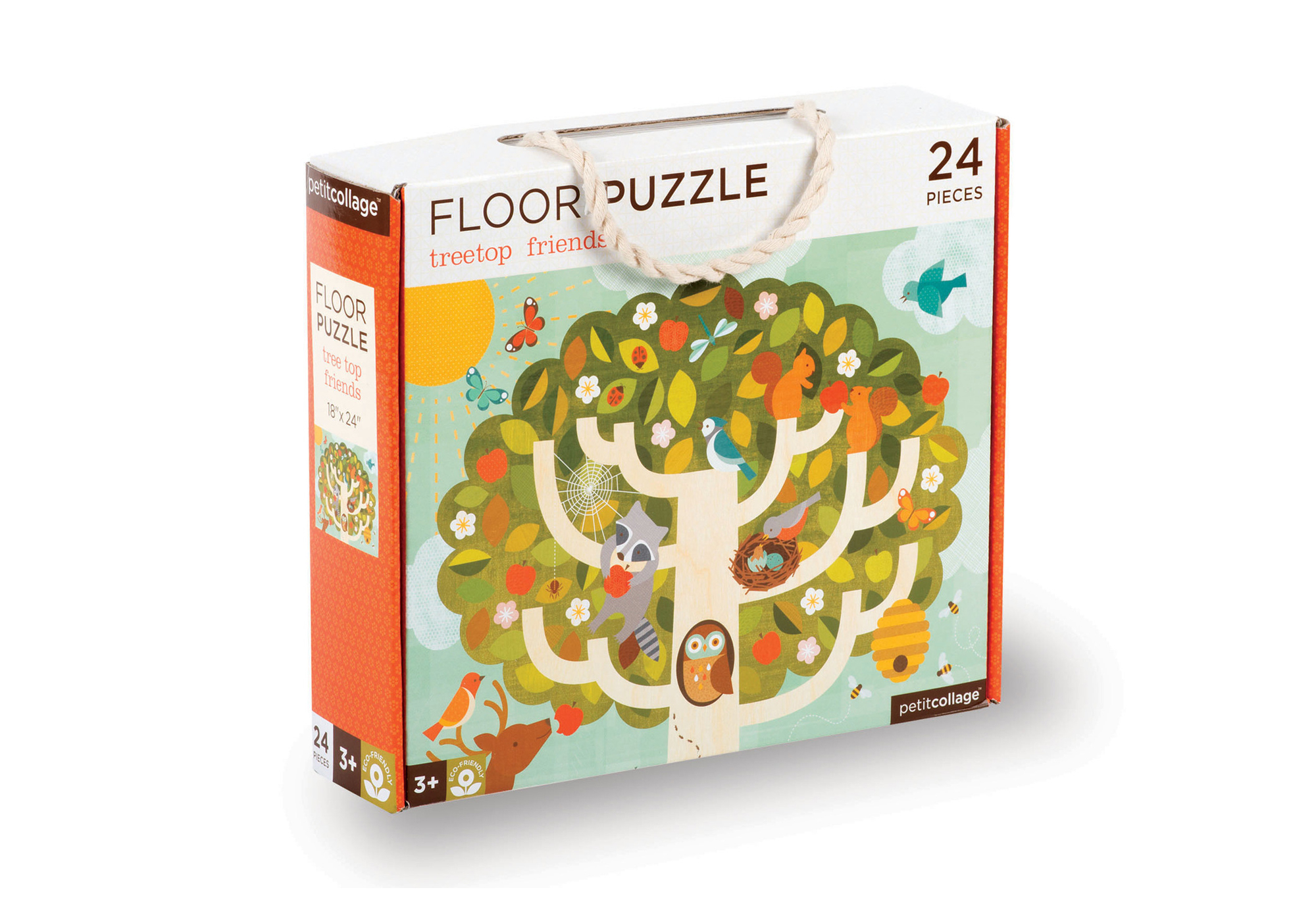 Floor Puzzle Treetop friends