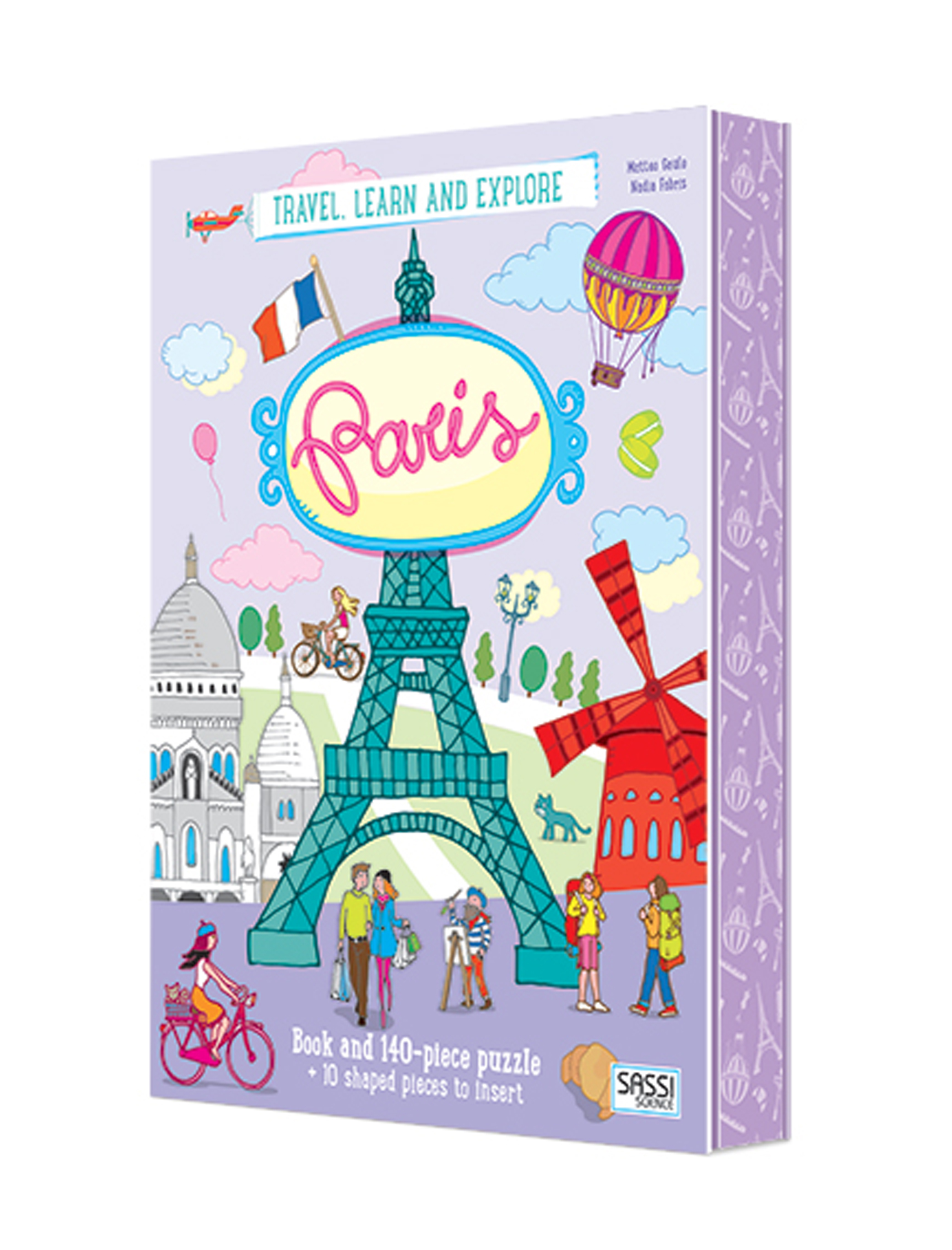 Paris Puzzle and Book