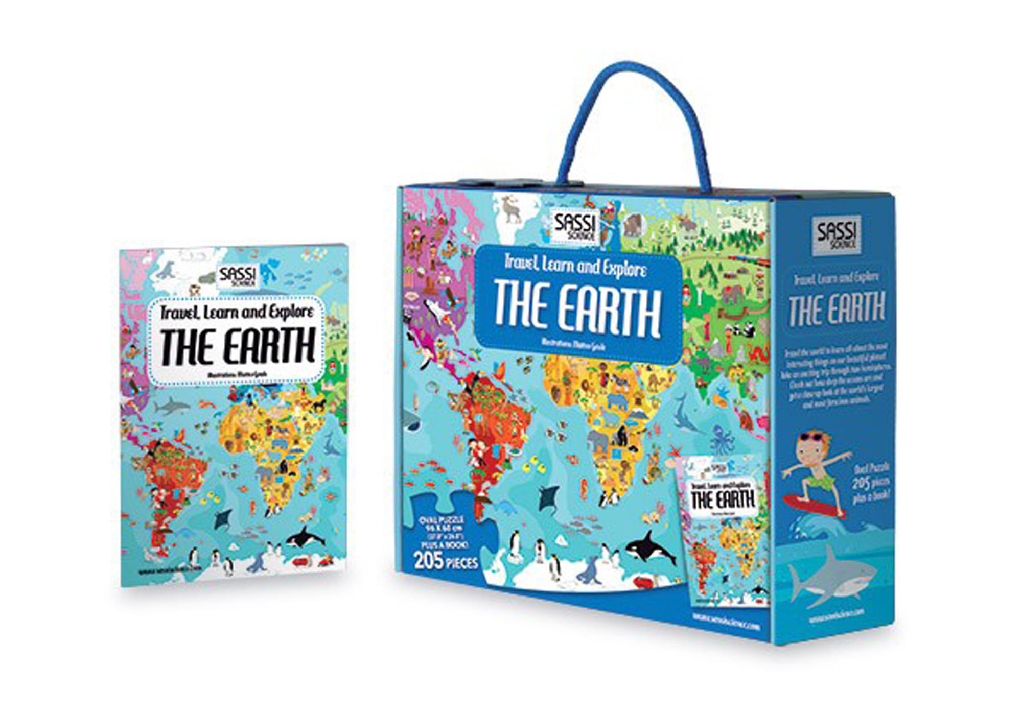 The Earth Puzzle and Book