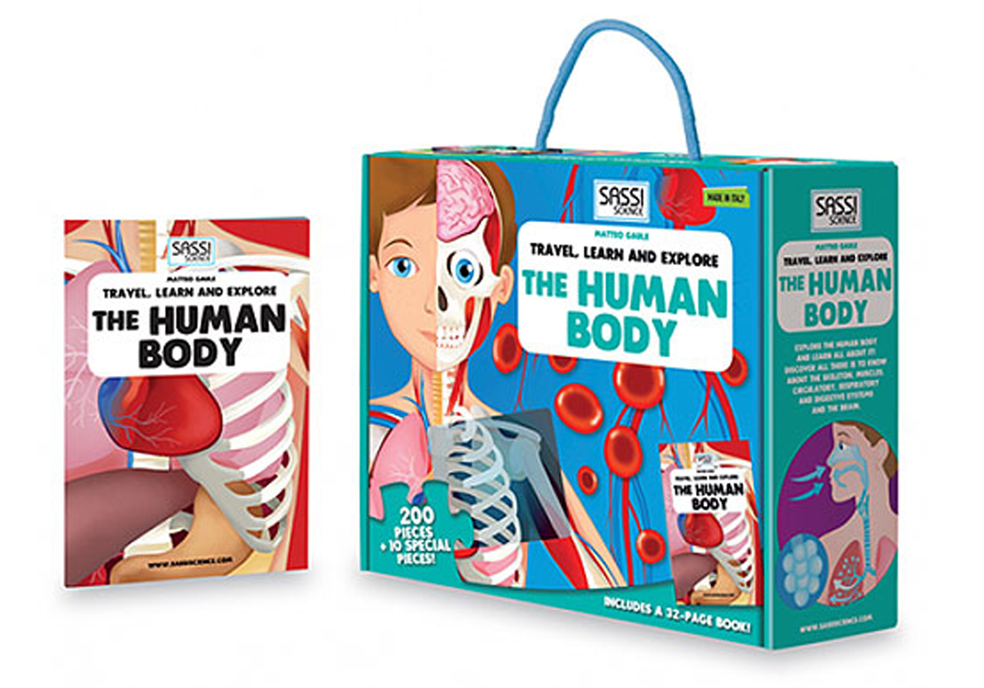 Human Body 3D Puzzle and Book