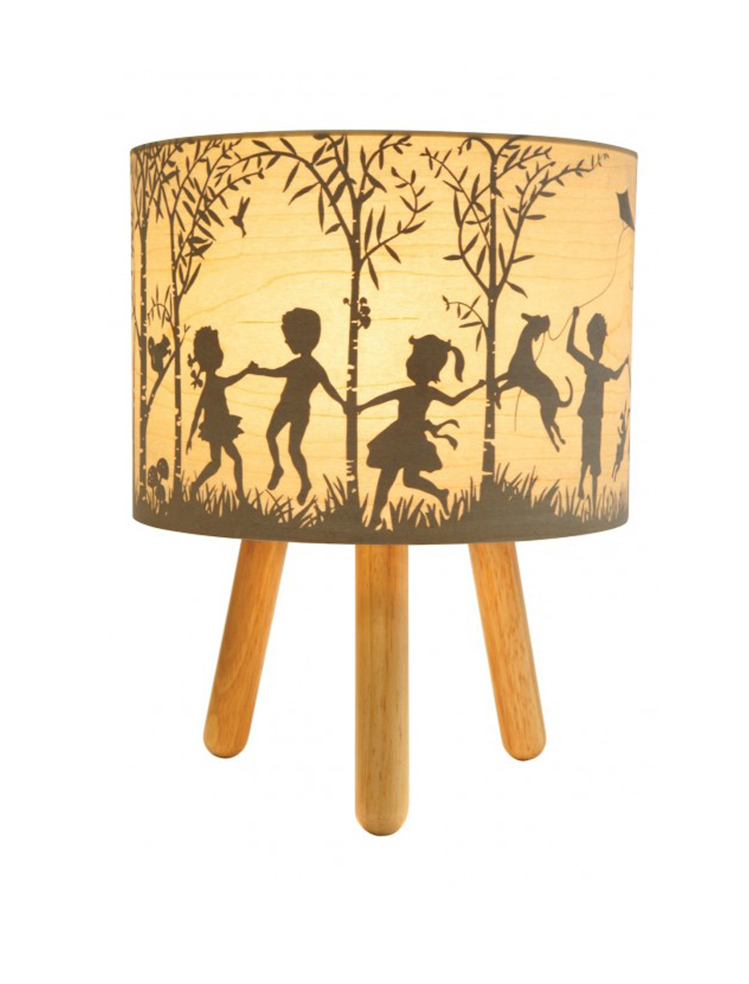 Into the Wild Timber Lamp