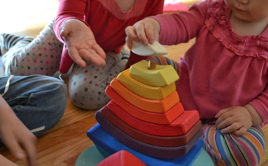 Grimms Stacking Tower Boat