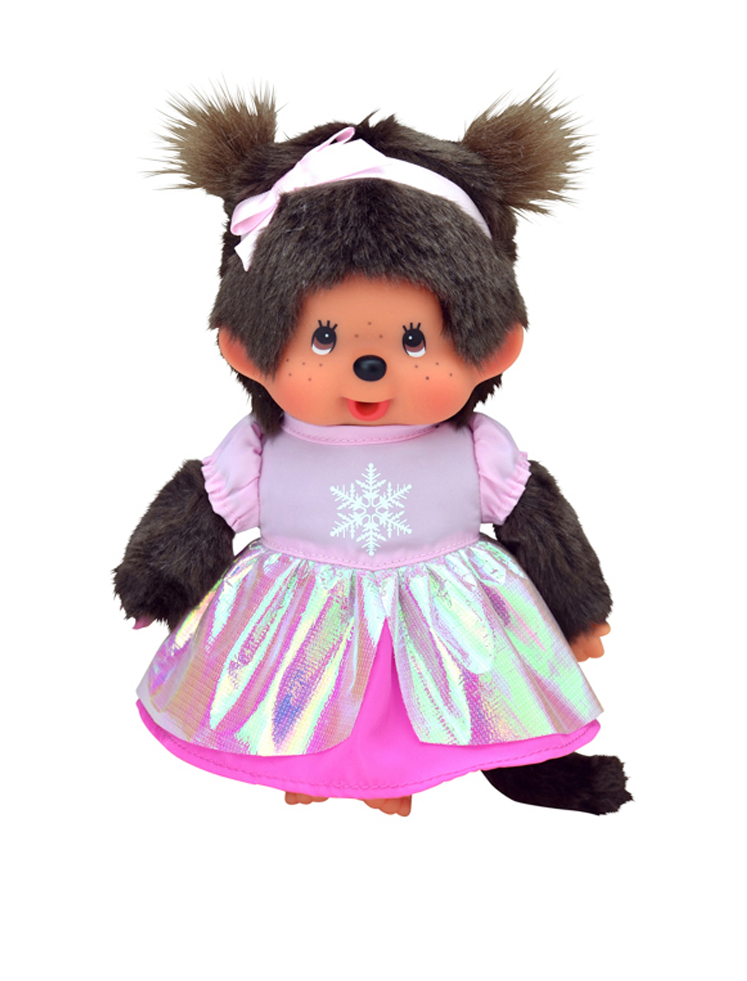Monchhichi Pink Princess Girl
