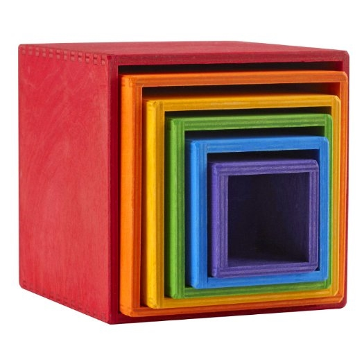 Rainbow Stacking Boxes
